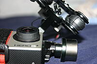 Name: IMG_5071.jpg Views: 53 Size: 527.8 KB Description: Go pro and gimbal, some scratches around lens case from UV filter