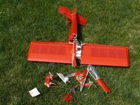 "Name: Acro400 crash.jpg Views: 546 Size: 163.1 KB Description: First crash - only the fuselage got ""damaged""."