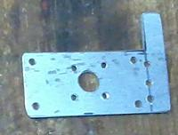 Name: 2013-02-09 Tricopter Yaw Plate.jpg Views: 298 Size: 60.5 KB Description: Motor mount plate before bending