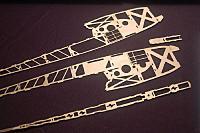 Ply fuselage parts