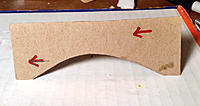 Name: Fig. 1. Cardboard Profile Cutout 740.jpg Views: 4 Size: 190.1 KB Description: Fig. 1. Template used for establishing the canopy's profile.