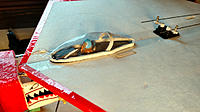 Name: Fig. 5. F-16 Canopy n Pilot 740.jpg Views: 9 Size: 223.4 KB Description: Fig. 5. Canopy, pilot, etc. installed on the model.