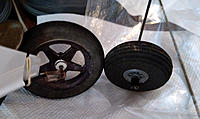 Name: Fig. 4. Larger Wheel 740.jpg Views: 10 Size: 208.3 KB Description: Fig. 4. Comparison of current wheel with possible replacement.
