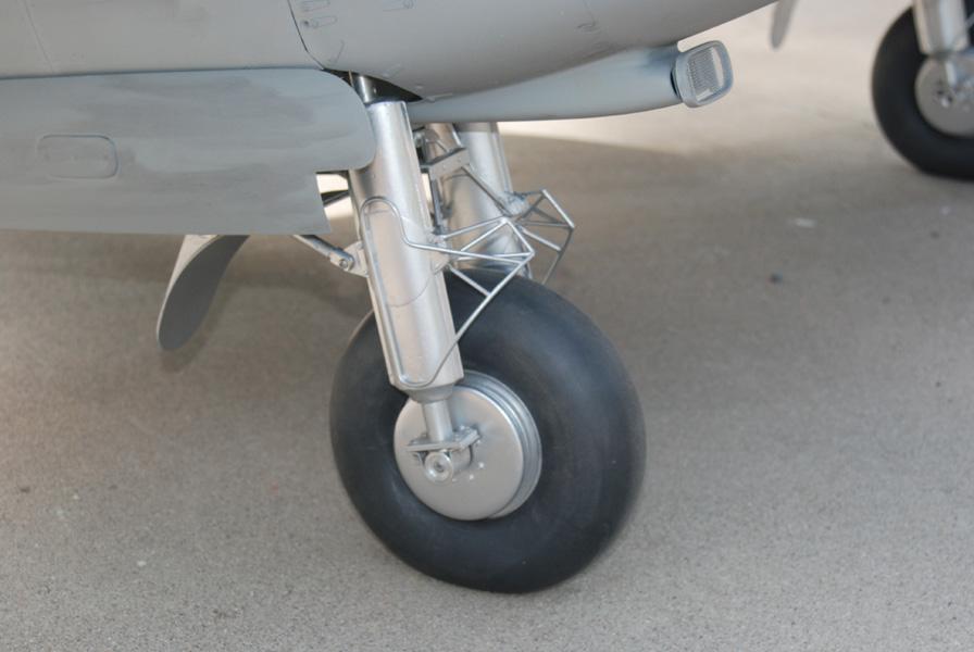 Name: Mosquito 11032011_06.jpg Views: 344 Size: 131.6 KB Description: Scratch built scale retractable landing gear.