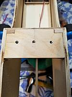 Name: 20190917_221007.jpg Views: 4 Size: 3.04 MB Description: Holes drilled and bind nuts in place.