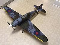 Name: sea hurricane finished 1.jpg Views: 152 Size: 218.8 KB Description: I added some more panel lines that were not actually part of the mold lines on the model...