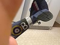Name: sea hurricane finished 3.jpg Views: 133 Size: 221.2 KB Description: This is a good picture of the white stripe I added to the front of the rudder like the PZ Spitfire.