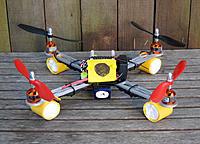 Name: Wiffle bat feet for Armattan CNC355 quadcopter.jpg Views: 119 Size: 141.4 KB Description: