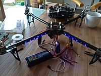 Name: photo 2.jpg Views: 497 Size: 224.4 KB Description: Led's on the front of the frame.