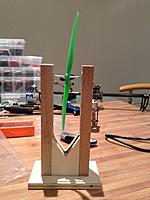 Name: IMG_5430.jpg Views: 857 Size: 120.3 KB Description: My prop balancer i made from scrap pieces of wood i had