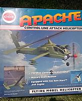 Vintage Cox Apache Helicopter - RC Groups