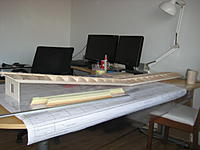 Name: IMG_1369.jpg Views: 91 Size: 141.3 KB Description: Wings joined but need sheeting and fiber glassing to stick together.