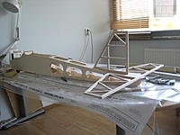 Name: IMG_1424.jpg Views: 91 Size: 167.9 KB Description: Finished and sanded body ready for the tail feathers.