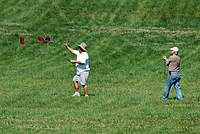 Name: 28-joe-roger.jpg Views: 77 Size: 107.6 KB Description: Joe Mekina about to catch his Photon II while Roger Parrett a new DARTS member gets his feet wet timing