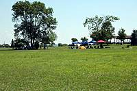 Name: 03-pits.jpg Views: 77 Size: 136.8 KB Description: Another view of the pits from out in the field on Saturday