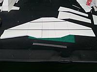 Name: 1457658984799.jpg Views: 37 Size: 90.9 KB Description: 3x3mm square CF spar KFM3 steps cut out. Now I've got to get the wind tip drops sorted...