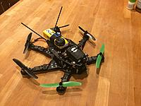 Name: IMG_6506.JPG Views: 66 Size: 484.7 KB Description: All FPV gear added. Ready for the maiden FPV flight