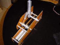 Name: 2-7-09 gear mock-up 001.jpg Views: 545 Size: 52.8 KB Description: On it's back gear down