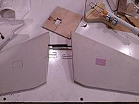 Name: IMAG0382.jpg Views: 8 Size: 824.8 KB Description: The servo pockets are ready to be cut out.