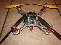 Name: DSC05855.jpg Views: 84 Size: 234.3 KB Description: My CNC255 Quadcopter.