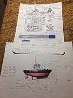 Name: IMG_3344.jpg Views: 45 Size: 705.4 KB Description: The GA sheet and a rendering I am using to make the scale calculations for size &location.