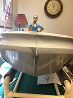 Name: IMG_3342.jpg Views: 30 Size: 557.7 KB Description: Camera angle a  bit misleading but I now have the deckhand EXACTLY where I want him. LOL!