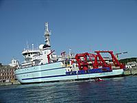 Name: IMGP0831.JPG Views: 111 Size: 1,002.6 KB Description: NOAA's polar research vessel,SIKULIAQ, at the WHOI dock. Her homeport is Seward ,AK.
