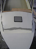Name: IMGP0837.jpg Views: 89 Size: 312.3 KB Description: Trunk roof trimmed to fit and seams primed.