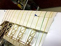 Name: 100_4445.JPG Views: 18 Size: 172.5 KB Description: Additional 1mm cap being glued on top of too much sanded lower front cap piece, mea culpa