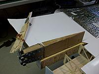 Name: 100_4404.JPG Views: 18 Size: 152.0 KB Description: Only after cutting out the junction part of the broken key through the underside of the wing did I see that it had been custom fit to continue in between the main spar beams. The inner rib appeared to be a strange assembly