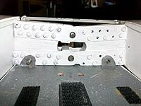 Name: 100_4474.JPG Views: 19 Size: 153.3 KB Description: Impossible to push the bolts through during the first assembly. Forgetting to take the thickness of the sawn off wood during initial separation caused minor angle changes that prevented the starboard wing to be bolted to the incidence modified port one