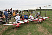 Name: Meeting_26_08_079.JPG Views: 16 Size: 288.3 KB Description: Proud designer/owner/pilot Francois (white cap) posing with three other early customer built Nipers at his airshow at Gembloux during summer 2018