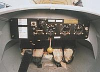 This is a picture of another surviving real Govier's  forward interior which was used to make a scale interior