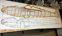 Name: 100_4805.JPG Views: 4 Size: 181.7 KB Description: Port half of the fuselage skeleton nearing completion