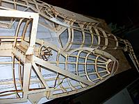 Name: 100_4817.JPG Views: 4 Size: 202.2 KB Description: Both fuselage skeletons reinforced where needed and wing fillet assembly ready for planking