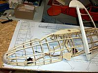 Name: 100_4822.JPG Views: 3 Size: 211.3 KB Description: Towhook with servo installed in nose (offset due to seperate fuselage-halves design, rudder servo behind pilot positions, slimmed-down assembled rudder with pull-pull attachments glued in position