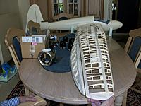 Name: 100_4938.JPG Views: 3 Size: 460.7 KB Description: Dry fitting of aileron on wing to figure out angles and distances, first mating of wing on fuselage to determine angles of first rib for snug fit along fuselage-wing filet.