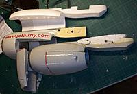 Name: 100_5428c.jpg Views: 305 Size: 569.2 KB Description: I used the nacelles of my first 737 instead of the new ones because I only had to redo the covering while the existing quick engine swap possibility was kept intact.
