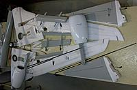 Name: 100_5436c.jpg Views: 338 Size: 549.3 KB Description: All the prefabricated parts before being glued to form new wings and stabs