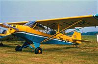 Name: Pa18 OO-WIK3.jpg Views: 136 Size: 115.2 KB Description: The PA18 I flew for 200 hours as an instructor during the seventies from EBZH for Aeroclub Kiewit in Belgium