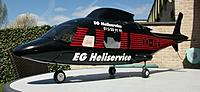 Name: 100_5540cr.jpg Views: 64 Size: 476.6 KB Description: HeliArtist Agusta 109 body after repainting and application of Caliegraphics artwork