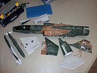Name: 100_5579.JPG Views: 14 Size: 528.0 KB Description: After applying and sanding plenty of lightweight filler the model was ready for painting with plastic modeller's Humbrol colors