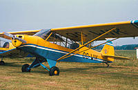 Name: Pa18 OO-WIK2.jpg Views: 1838 Size: 82.1 KB Description: The full size PA18 at aero Kiewit during the mid 70's. The club also had 00-KIW sporting exactly the same colors.