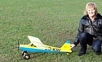 Name: pip2010flyin21novcrop.jpg Views: 619 Size: 26.0 KB Description: Ready for the maiden on the grassfield