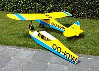 Name: pip2011-3mini.jpg Views: 736 Size: 90.4 KB Description: Cutoff at tail where the complete assembly was grafted to a new fuselage, as well as the wing