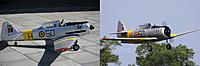 Name: Noorduyn-AT-16-OO-DAF-H50-Vormezeele-klein.jpg Views: 91 Size: 106.4 KB Description: My model and the real airplane