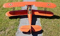 Name: 100_2375.jpg Views: 69 Size: 244.6 KB Description: The typical swept back wings with 4 ailerons and enclosed cockpit differentiates the Stampe from the more common Tiger Moths.