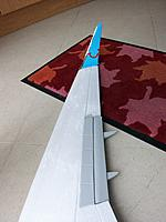 Name: winglet_3.jpg Views: 231 Size: 102.4 KB Description: Top side of uncovered wing with finished flap and winglet in position