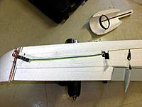 Name: winglet (4).jpg Views: 216 Size: 157.0 KB Description: dry fitting and testing of all lightning wires and LEDs before gluing and filling in the channel guides