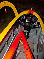 Name: all ready 7mar2014_8.jpg Views: 55 Size: 71.5 KB Description: Scale cockpit with canopy open on the floor (no hinges on the real one either). Canopy handle fashioned using broken necklace pearl. Yellow color is very close to original in this shot, on other pictures it shows much more pale as in real.